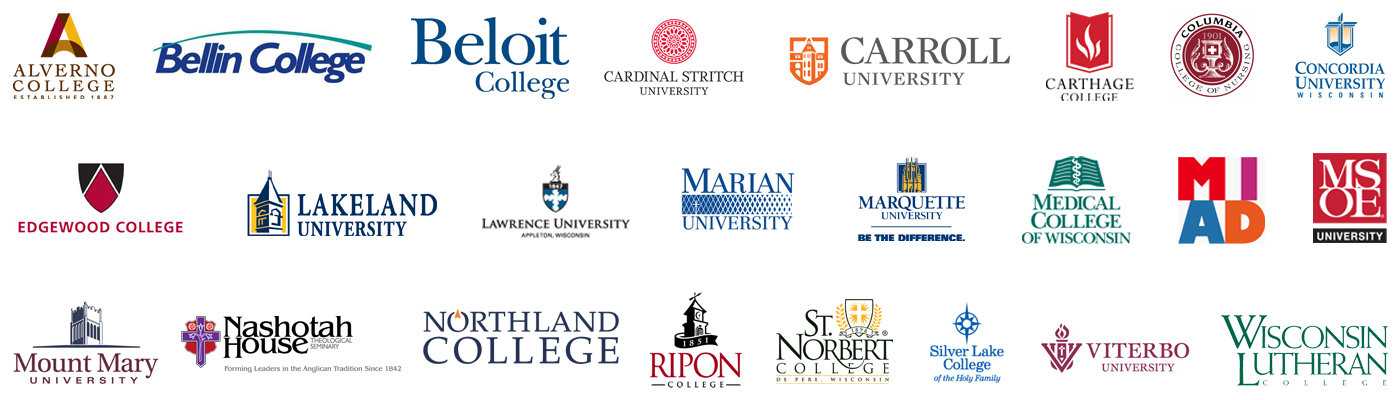 WI Private College Logos